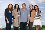 "Irene Escolar, Candela Pena, Alvaro Fernandez Armero, Kitti Manver and Inma Cuesta attends the ""Las Ovejas No Pierden El Tren"" Presentation at Palafox Cinema, Madrid,  Spain. January 27, 2015.(ALTERPHOTOS/)Carlos Dafonte)"
