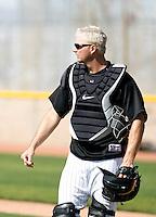 AJ Pierzynski -  Chicago White Sox - 2009 spring training.Photo by:  Bill Mitchell/Four Seam Images