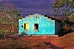 Casa em area rural do municipio de Solanea. Paraiba. 2015. Foto de Kleide Teixeira.