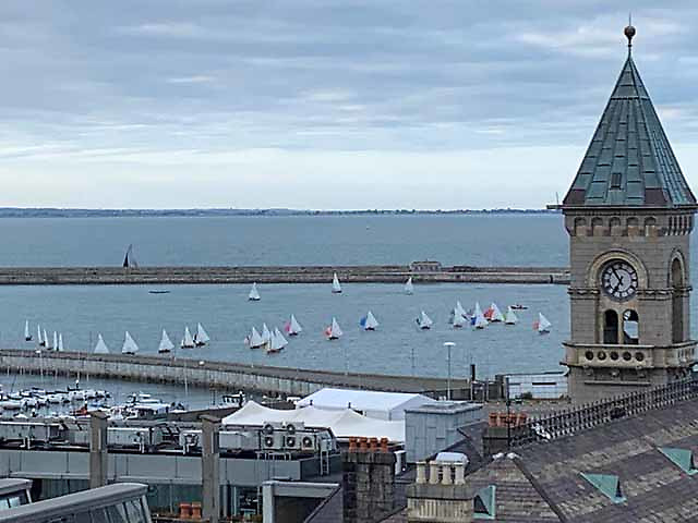 A fantastic turnout of 31 Water Wags for the Captain's Prize Race at Dun Laoghaire Harbour