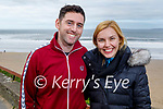 Enjoying a stroll in Ballybunion on Saturday, l to r: John Queally and Mary O'Neill.