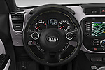 Car pictures of steering wheel view of a 2015 KIA Soul Max 5 Door Hatchback