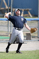 July 9th 2007:  Jeff Livek of the Staten Island Yankees, Class-A affiliate of the New York Yankees, at Dwyer Stadium in Batavia, NY.  Photo by:  Mike Janes/Four Seam Images