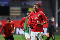 24th March 2021; Leuven, Belgium; Jan Vertonghen of Belgium warms up during the World Cup Qatar 2022 Qualifiers Match between Belgium and Wales on March 24, 2021 in Leuven, Belgium