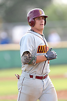 Chris Betts (26) of Long Beach Wilson High School, and a potential first round draft pick in the 2015 draft, runs the bases during a game against Gahr High School at Gahr H.S. on March 18, 2015 in Cerritos, California. (Larry Goren/Four Seam Images)