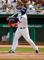 Joey Gathright - Chicago Cubs - 2009 spring training.Photo by:  Bill Mitchell/Four Seam Images