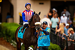 JULY 24, 2021: Madone and JJ Hernanadez before the San Clemente Stakes at the Del Mar Fairgrounds in Del Mar, California on July 24, 2021. Evers/Eclipse Sportswire/CSM