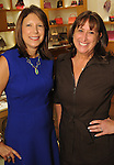 Rhonda Bass and Rhonda Saka at a special evening in honor of Alley Theatre's Wild Things at the Louis Vuitton store in The Galleria Wednesday Sept. 30,2015.(Dave Rossman photo)