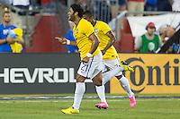 Foxborough, Mass. - Tuesday, September 8, 2015: Brazil defeats USMNT 4-1 during international friendly play at Gillette stadium.