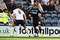 Luke Freeman of Stevenage takes on Bailey Wright of Preston - Preston North End v Stevenage - Sky Bet League One - Deepdale, Preston - 14th September 2013. <br /> © Kevin Coleman 2013