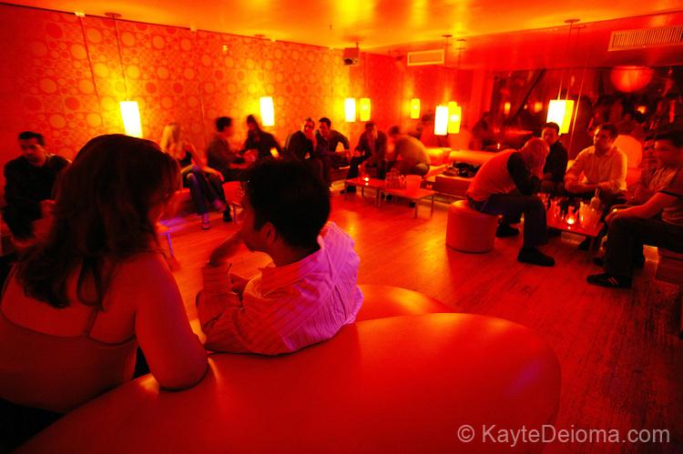 Interior of a nightclub, Hollywood, CA