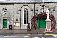Pictured: The Cowbridge Town Hall, Wales, UK. Wednesday 06 November 2019<br /> Re: People in Cowbridge share their views after the Vale of Glamorgan MP Alun Cairns announced that he has resigned from his role as a Secretary for Wales.