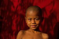 Monastery near Yankin Hill, Mandalay, Myanmar/Burma