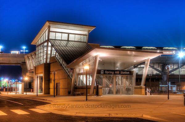 Tysons Spring Hill Metro VA Northern Virginia