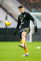 7th February 2021; Molineux Stadium, Wolverhampton, West Midlands, England; English Premier League Football, Wolverhampton Wanderers versus Leicester City; Raúl Jiménez of Wolverhampton Wanderers warms-up prior to the match