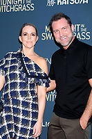 LOS ANGELES - JUL 19:  Jessica Horsnail, Alan Horsnail at Midnight in the Switchgrass Special Screening at Regal LA Live on July 19, 2021 in Los Angeles, CA