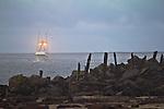 Garibaldi, fishing boat, crabbing season, Tillamook Bay, crossing the bar, Oregon coast, Tillamook County, Oregon, Pacific Northwest, North America,