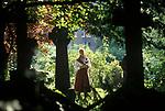 Dame Judi Dench, Hampstead North London.1990s UK