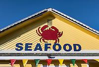 Seafood shack.