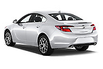 Car pictures of rear three quarter view of 2017 Buick Regal Sport-Touring 4 Door Sedan Angular Rear