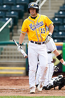 Bryan Jordan (15) of the Western Illinois Leathernecks during a game vs. the Missouri State Bears at Hammons Field in Springfield, Missouri;  March 20, 2011.  Photo By David Welker/Four Seam Images
