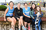Cathy Flynn, Ciara Fleming, Kirstie Novak, with Irene and Katy Butler (from Ardfert), at the Dingle Marathon over the weekend.