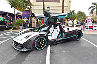 HALLANDALE, FL - JANUARY 26: Pagani attends the 2019 Pegasus World Cup at Gulfstream Park on January 26, 2019 in Hallandale, Florida<br /> <br /> People:  Pagani