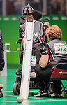 Bruno Garneau, Rio 2016 - Boccia.<br /> The Canadian BC3 team takes on Belgium in mixed pairs preliminaries // L'équipe canadienne BC3 affronte Belgique dans les préliminaires mixtes. 10/09/2016.