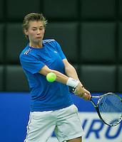 19-12-13,Netherlands, Rotterdam,  Topsportcentrum, Tennis Masters, Demi Schuurs(NED)  <br /> Photo: Henk Koster