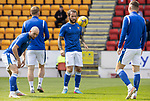 St Johnstone v Dundee United…22.08.21  McDiarmid Park    SPFL<br />Stevie May pictured during the warm-up<br />Picture by Graeme Hart.<br />Copyright Perthshire Picture Agency<br />Tel: 01738 623350  Mobile: 07990 594431