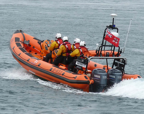 Portaferry RNLI Aid Two Men on Vessel in Danger of Sinking West of St John's Point Lighthouse