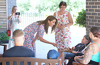 25 June 2020 - Norfolk - Kate Duchess of Cambridge, Catherine, Katherine Middleton during a visit to The Nook in Framlingham Earl, Norfolk, which is one of the three East Anglia Children's Hospices (EACH). The Duchess is the Royal Patron of the charity which offers care and support for children and young people with life-threatening conditions and their families across Cambridgeshire, Essex, Norfolk and Suffolk. Photo Credit: ALPR/AdMedia