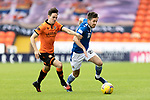 Dundee United v St Johnstone…..01.08.20   Tannadice  SPFL<br />Callum Booth and Lewis Smith<br />Picture by Graeme Hart.<br />Copyright Perthshire Picture Agency<br />Tel: 01738 623350  Mobile: 07990 594431