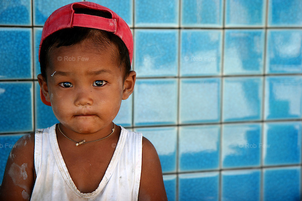 This is tsunami. He was born shortly after the 2004 disaster that killed the father he never met. He is helping to build a swimming pool he will never use.<br /> <br /> Like migrant communities all over the world, the Burmese in Thailand are often reviled by their hosts. as lazy, dirty and dishonest. The truth, as always, is completely different.
