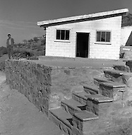 "Mascara Area, Algeria, Summer 1961. Typical French Fort for a small harka unit. This unit counted 48 ""harkis"", Arab origin, fighting along the French troops. This fort was above the small vilage of M'Zaourat of about 50 souls. The comanding Officer Under  Lieutenant JP Laffont."