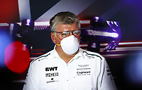 16th July 2021; Silverstone Circuit, Silverstone, Northamptonshire, England; Formula One British Grand Prix, and Qualifying; Otmar Szafnauer ROU, Aston Martin Cognizant F1 Team, F1 Grand Prix of Great Britain at Silverstone Circuit press conference