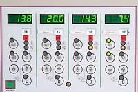 Control panel for temperature control chateau lestrille bordeaux france