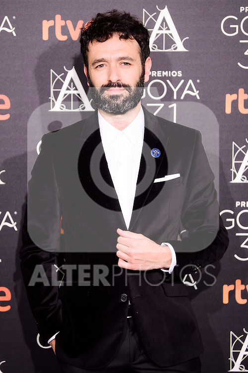 Rodrigo Sorogoyen attends to the 2017 Goya Awards Candidates Cocktail at Ritz Hotel in Madrid, Spain. January 12, 2017. (ALTERPHOTOS/BorjaB.Hojas)