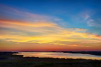 Sunrise on Crackatuxet Cove, South Beach, Martha's Vineyard, Massachusetts, USA