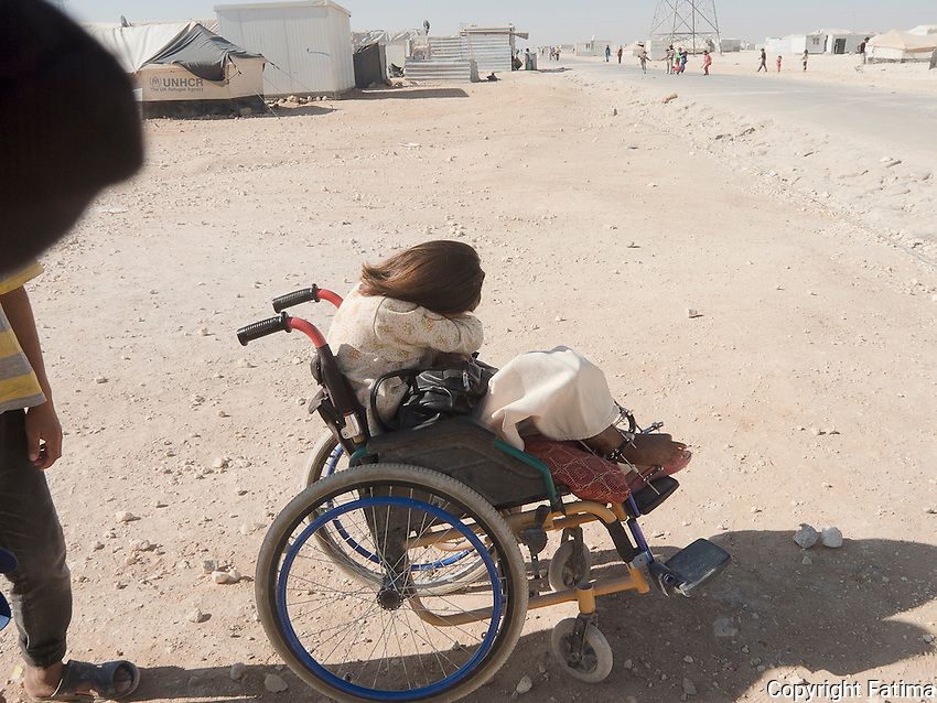 Farah is a child who was abandoned by joy at the peak of her childhood. Shyness visited her because of her handicap.