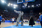 Giant of Game of Thrones, Wun Weg Wun Dar Wun in a performance during Semi Finals match of 2017 King's Cup at Fernando Buesa Arena in Vitoria, Spain. February 18, 2017. (ALTERPHOTOS/BorjaB.Hojas)
