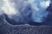 Vanuatu, Ambrym Island, smoking crater of Mount Benbow (Licence this image exclusively with Getty: http://www.gettyimages.com/detail/200387538-001 )