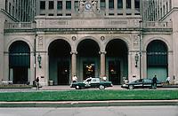 Detroit:  General Motors Building--entrance,  Grand Boulevard.  Albert Kahn & Assoc. 1922.