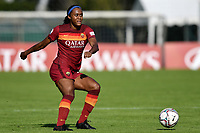 Allyson Swaby of AS Roma in action during the women Serie A football match between AS Roma and ACF Fiorentina at Tre Fontane Stadium in Roma (Italy), November 7th, 2020. Photo Andrea Staccioli / Insidefoto