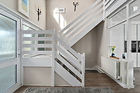 BNPS.co.uk (01202) 558833. <br /> Pic: ScottParry/BNPS<br /> <br /> Pictured: Entrance hall. <br /> <br /> Life's a beach...<br /> <br /> A coastal clifftop home above a picturesque Cornish beach is on the market for £1.75m.<br /> <br /> High Seas sits in a prime position above Millendreath Beach in Looe, the 'Cornish Riviera', with spectacular views across Whitsand Bay and out to sea.<br /> <br /> The impressive five-bedroom property has almost 5,000 sq ft of living space and a decent sized garden, but it's real draw is its location.<br /> <br /> The house is 150 yards from Millendreath Beach and its garden gate will take the owners straight onto the South West Coast Path.