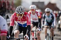 Mathieu Van Der Poel (NED/Correndon-Circus)<br /> <br /> 74th Dwars door Vlaanderen 2019 (1.UWT)<br /> One day race from Roeselare to Waregem (BEL/183km)<br /> <br /> ©kramon