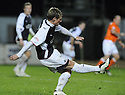 21/11/2009  Copyright  Pic : James Stewart.sct_jspa08_falkirk_v_hamilton  . :: CHRIS MITCHELL SCORES THE FIRST :: .James Stewart Photography 19 Carronlea Drive, Falkirk. FK2 8DN      Vat Reg No. 607 6932 25.Telephone      : +44 (0)1324 570291 .Mobile              : +44 (0)7721 416997.E-mail  :  jim@jspa.co.uk.If you require further information then contact Jim Stewart on any of the numbers above.........