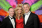 "Jana Arnoldy with honorees Brandon Atkins,L, and Robert Franz at the 2016 Houston Symphony Gala ""Carnaval"" at Jones Hall Saturday May 14,2016(Dave Rossman Photo)"