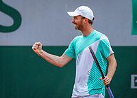 Paris, France, 01 June, 2018, Tennis, French Open, Roland Garros, Men's doubles: Matwe Middelkoop <br /> Photo: Henk Koster/tennisimages.com