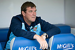 Greenock Morton v St Johnstone….09.07.19      Cappielow        Pre-Season Friendly<br />Manager Tommy Wright watches his players warm up<br />Picture by Graeme Hart. <br />Copyright Perthshire Picture Agency<br />Tel: 01738 623350  Mobile: 07990 594431